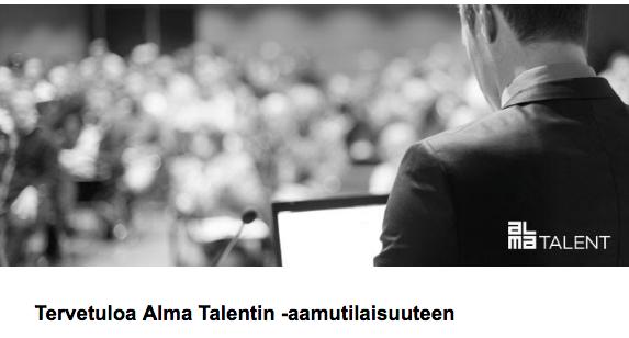 Vaikuta ja vakuuta asiantuntijana - Alma Talent (HKI)