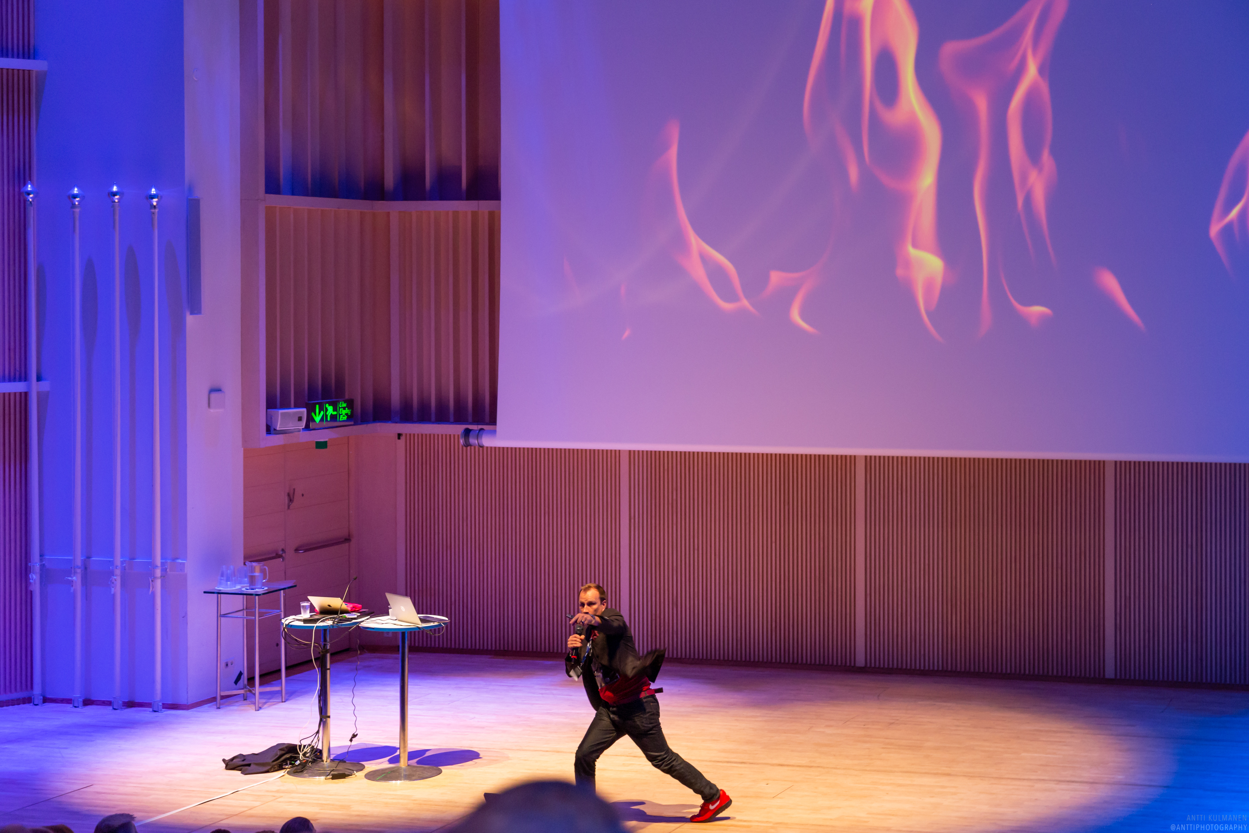 Keynote -puheenvuorot & esiintymiset